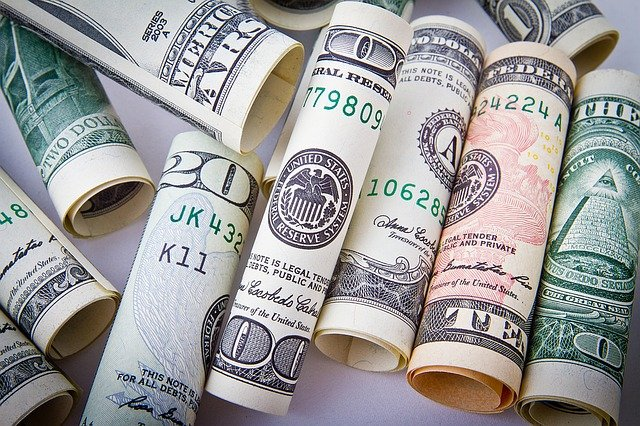dollar-banknotes
